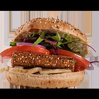 Magic mushroom burger