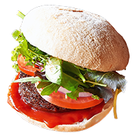 Seasonable burger